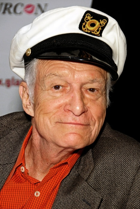 Hugh Hefner at Glamourcon in November 2010