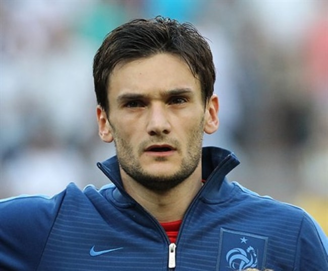 Hugo Lloris at the UEFA Euro 2012 match between France and England in Donetsk