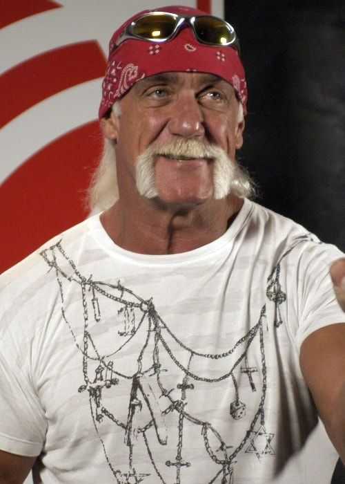 Hulk Hogan as seen in August 2005
