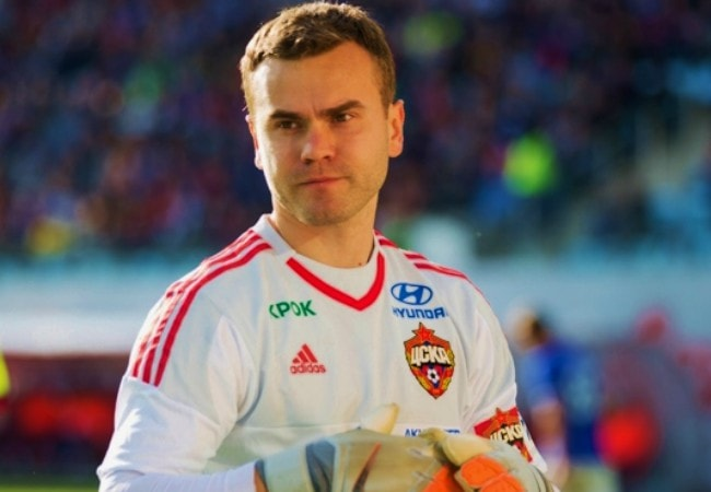 Igor Akinfeev as seen in October 2015