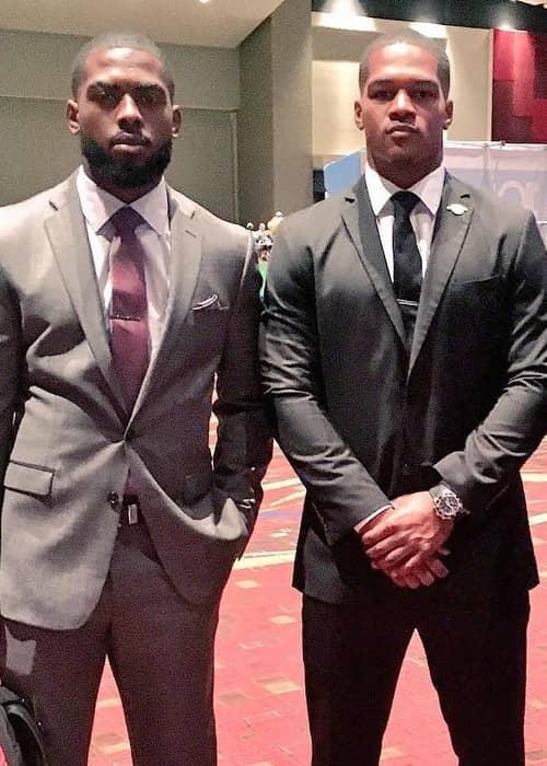 J. T. Barrett (Left) and Raekwon McMillan as seen in July 2016