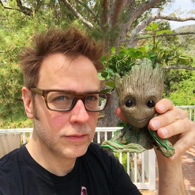 James Gunn as seen in May 2018