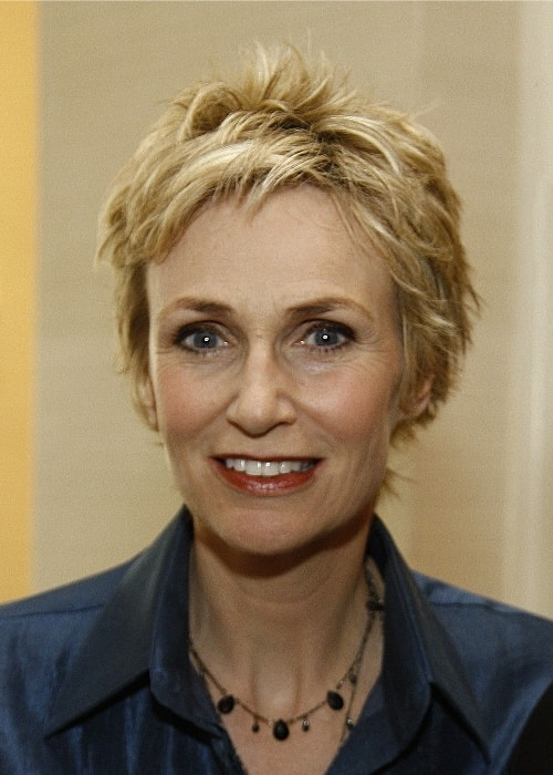 Jane Lynch at 69th Annual Peabody Awards Luncheon in New York in May 2010