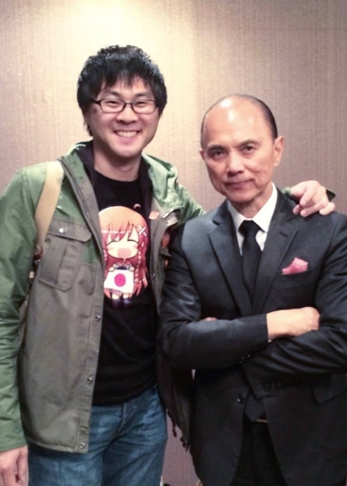 Jimmy Choo (Right) with his son Danny Choo in May 2016
