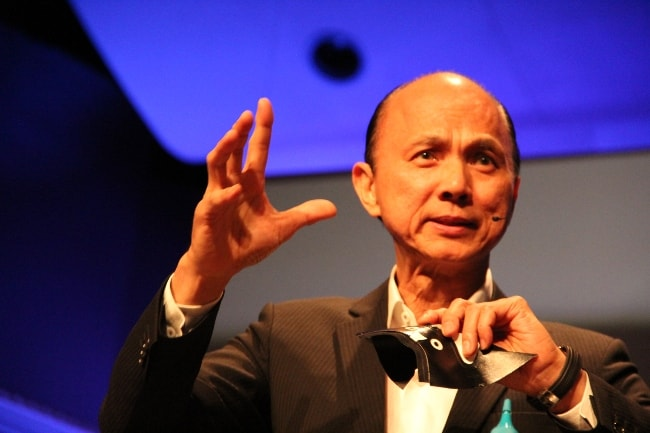 Jimmy Choo speaking at the TEDxShanghai in May 2012