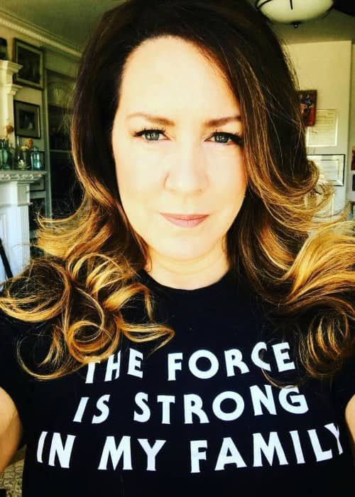 Joely Fisher in an Instagram selfie as seen in May 2018