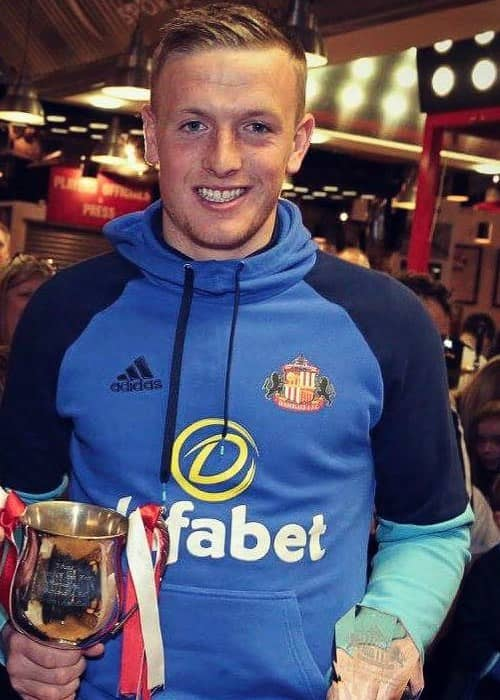 Jordan Pickford as seen in May 2017