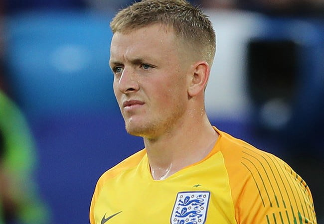 Jordan Pickford during the 2018 FIFA World Cup