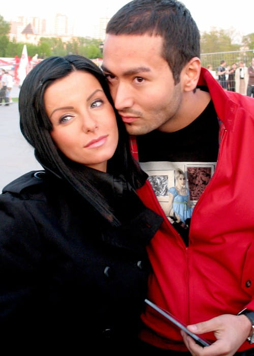 Julia Volkova and Parviz Yasinov as seen in May 2008