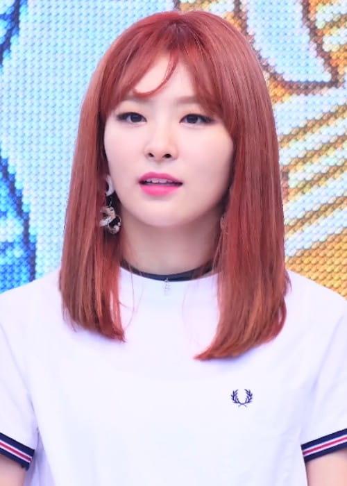 Kang Seul-gi at Pyeongchang Smiley Radio Show in September 2016