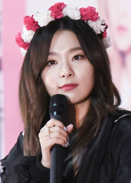 Kang Seul-gi at a fanmeet in Incheon in March 2016