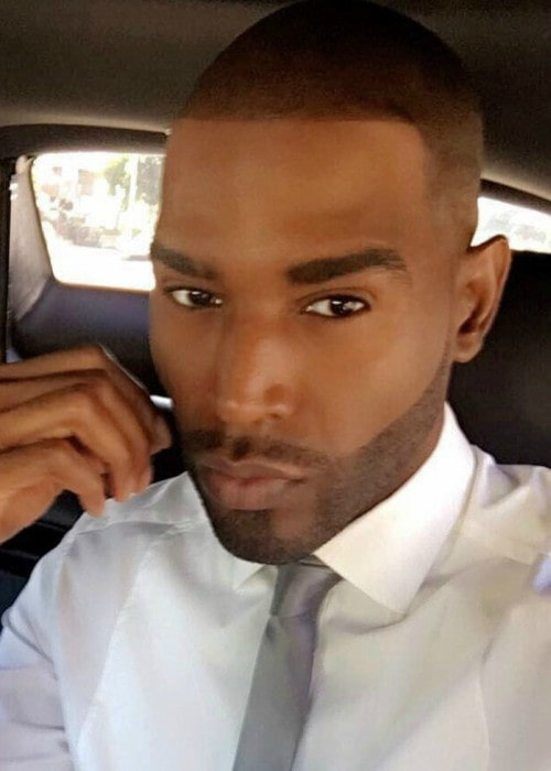 Karamo Brown in a selfie as seen in April 2017