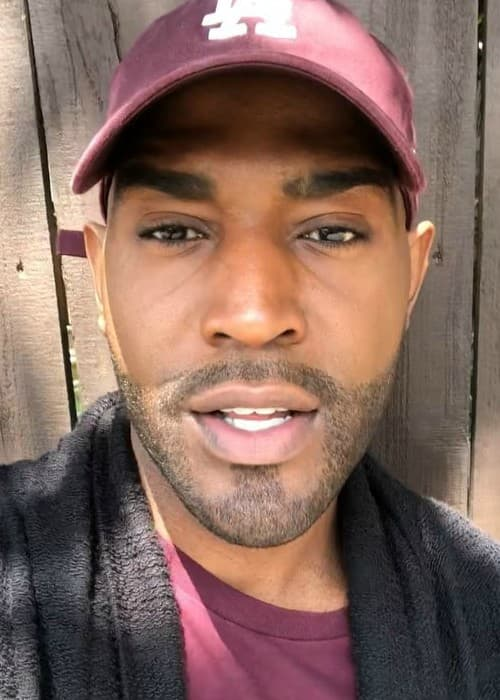 Karamo Brown in a selfie in April 2018