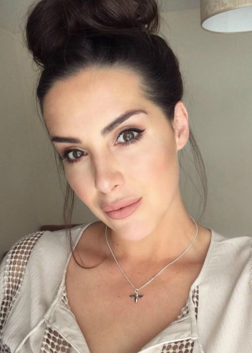Katie Green in an Instagram selfie as seen in June 2018