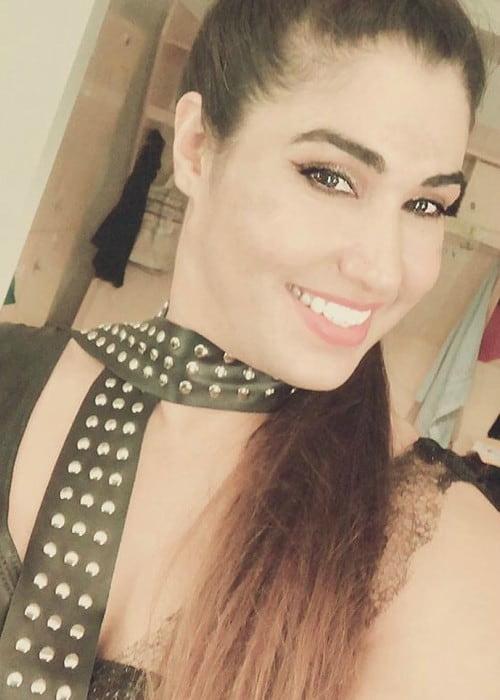 Kavita Devi in a selfie in June 2018