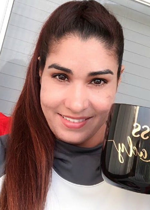 Kavita Devi in an Instagram selfie as seen in May 2018