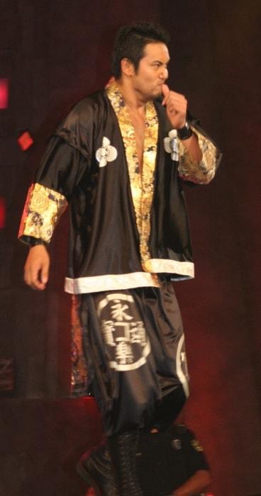 Kazuchika Okada at theTNA Impact! taping in July 2010