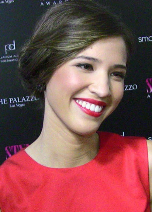 Kelsey Chow at the 2011 Hollywood Style Awards red carpet