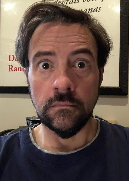 Kevin Smith in a March 2018 selfie