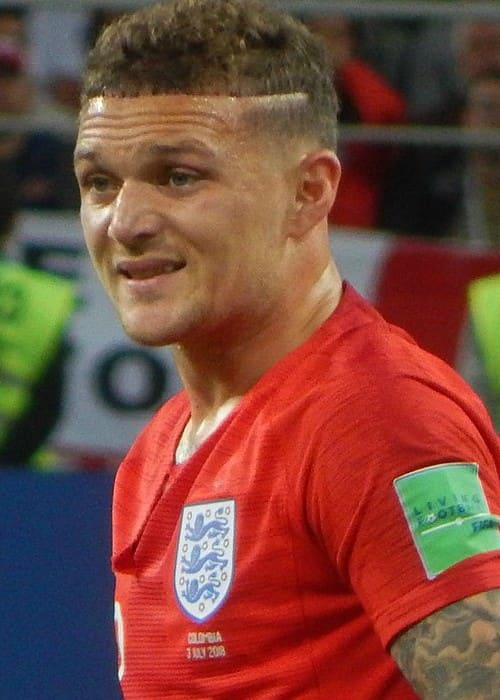 Kieran Trippier during the FIFA World Cup match in July 2018