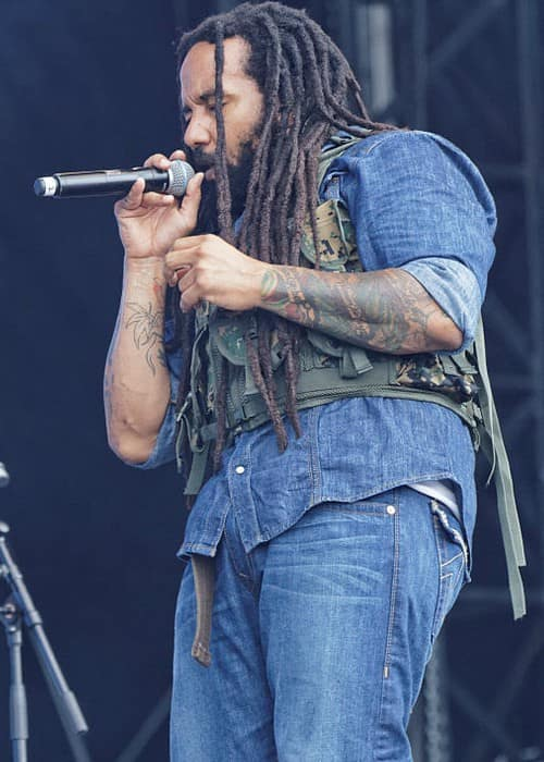 Ky-Mani Marley as seen in July 2014