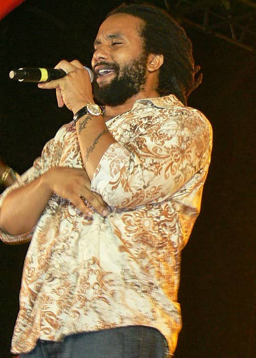 Ky-Mani Marley at Smile Jamaica Africa Unite in February 2008