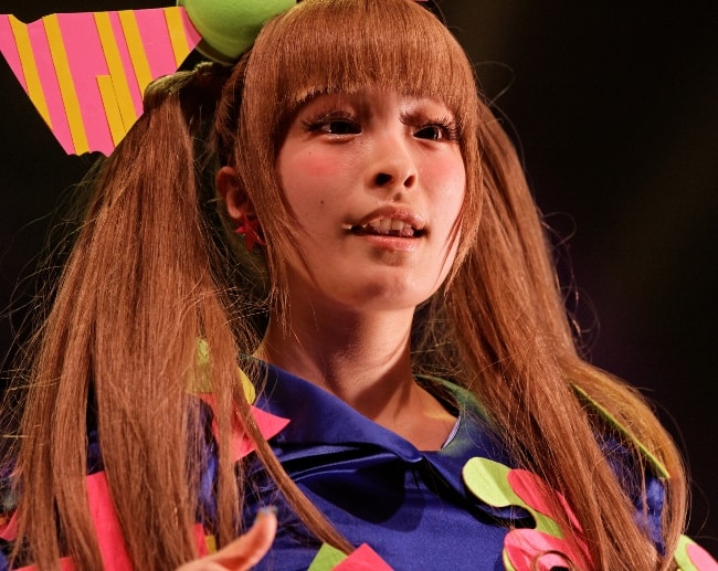 Kyary Pamyu Pamyu during a concert in Japan 2012