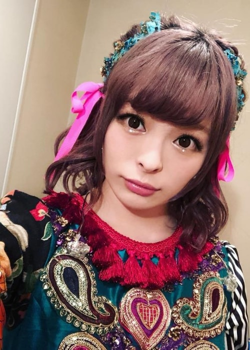 Kyary Pamyu Pamyu in an Instagram selfie in December 2017