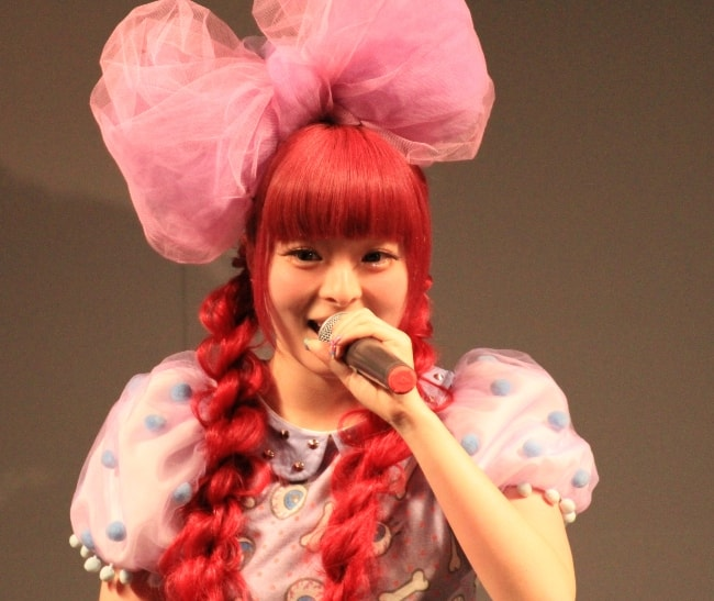 Kyary Pamyu Pamyu performing at the 4th Okinawa International Movie Festival