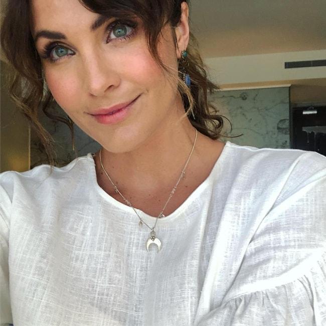 Laura Byrne in a selfie in January 2018