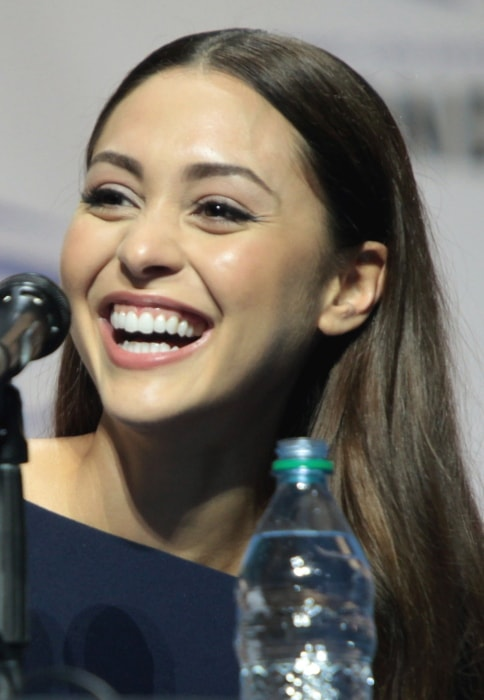 Lindsey Morgan at WonderCon in Los Angeles, California in March 2016
