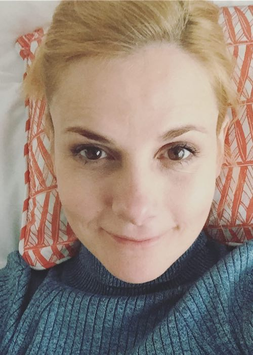 Louise Brealey birthday selfie on March 27, 2018