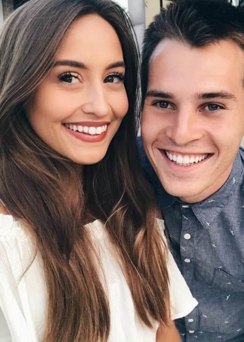 Marcus Johns and Kristin Lauria as seen in November 2017