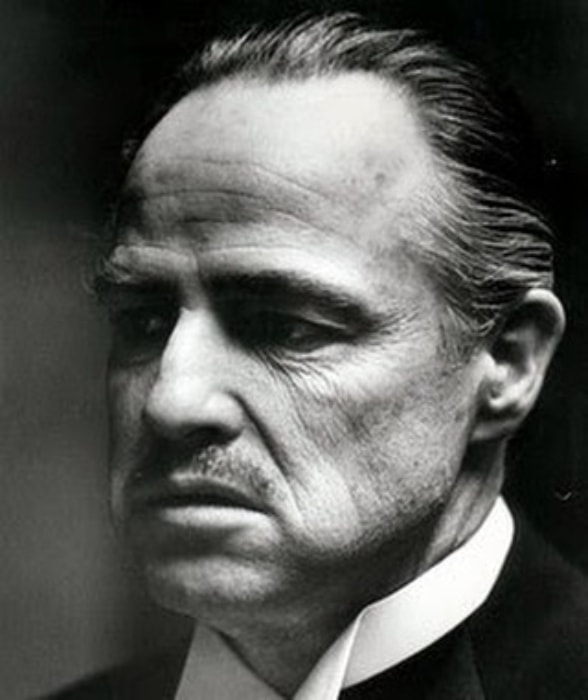 Marlon Brando as 'The Godfather'