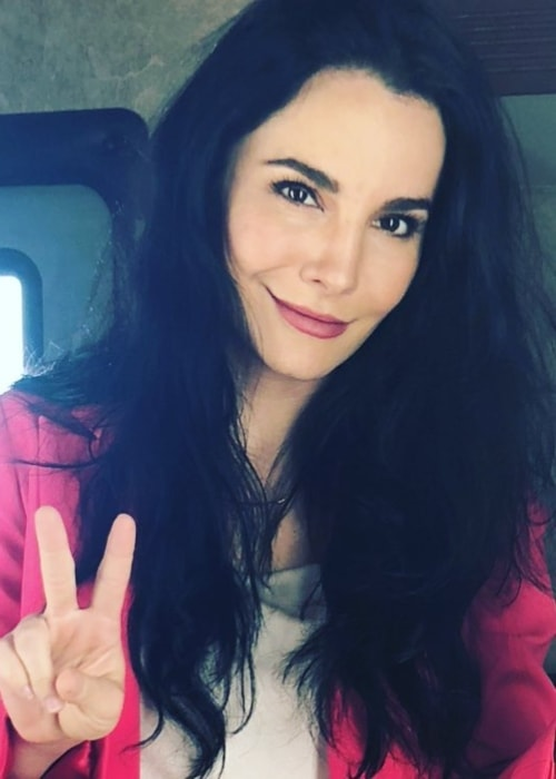 Martha Higareda as seen in May 2018