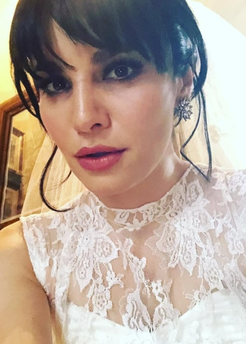 Martha Higareda in a dazzling selfie in April 2018