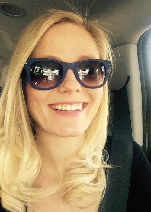 Meghan McCarthy in a selfie in April 2016