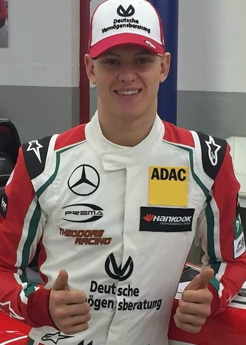 Mick Schumacher as seen in March 2017
