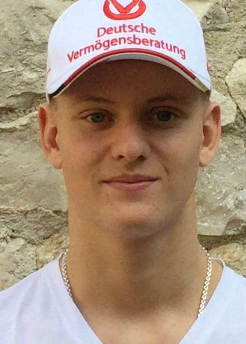 Mick Schumacher in an Instagram post as seen in October 2016