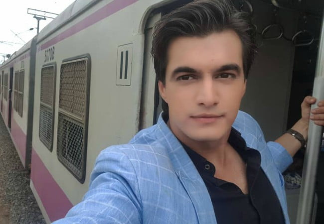 Mohsin Khan in a selfie in June 2018