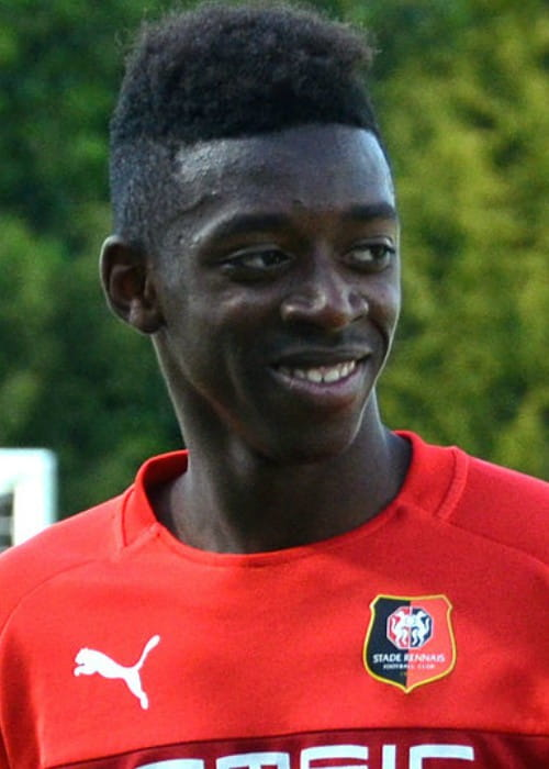 Ousmane Dembélé during a CFA2 match in May 2015