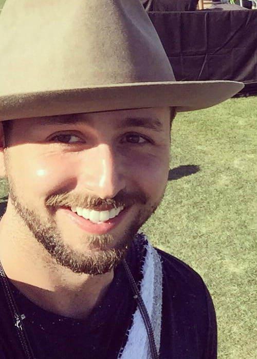 Paul Khoury in an Instagram selfie as seen in April 2016