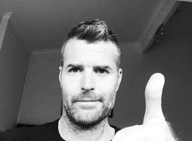 Pete Evans in a selfie in July 2018