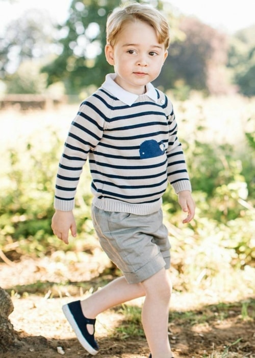Prince George during a day-out