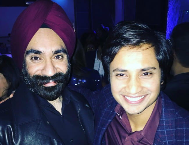 Reuben Singh (Left) and Aditya Mittal as seen in December 2016
