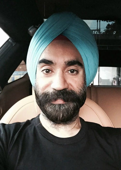 Reuben Singh in a selfie in August 2016