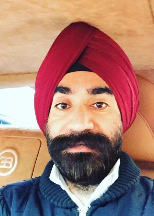 Reuben Singh in an Instagram selfie as seen in August 2016