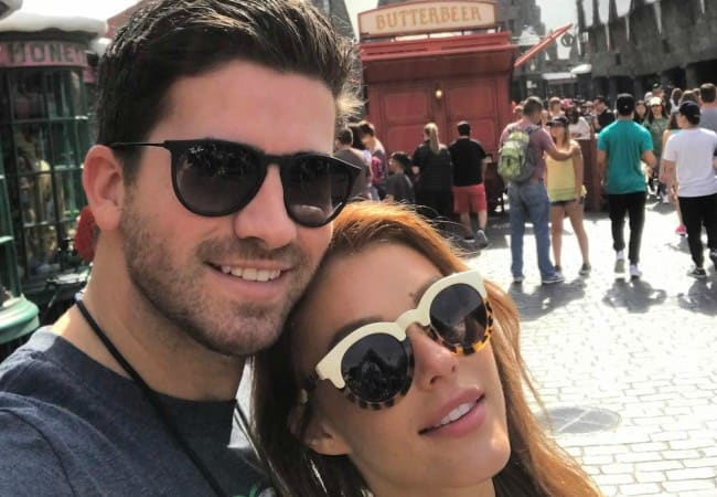 Ryan Rottman and Jessica Vargas in a selfie in March 2017