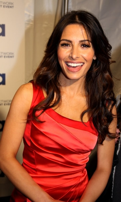 Sarah Shahi at the USA Network upfronts in NYC Lincoln Center in May 2011