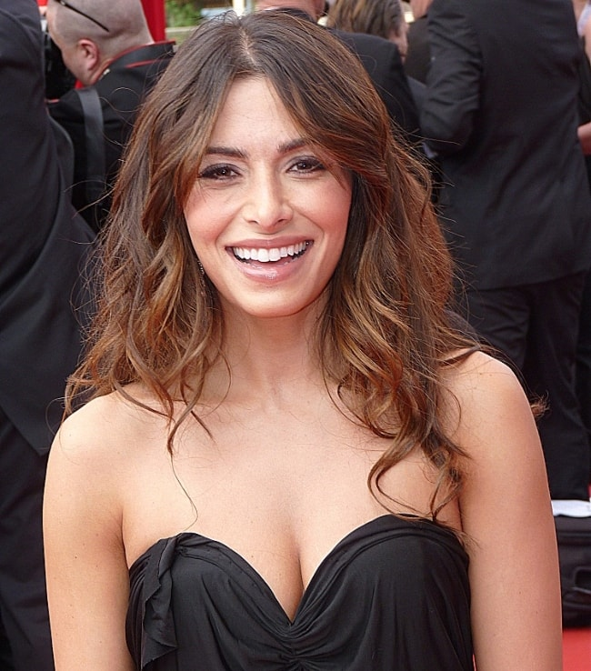 Sarah Shahi in June 2012 at the Monte-Carlo Television Festival in Monaco